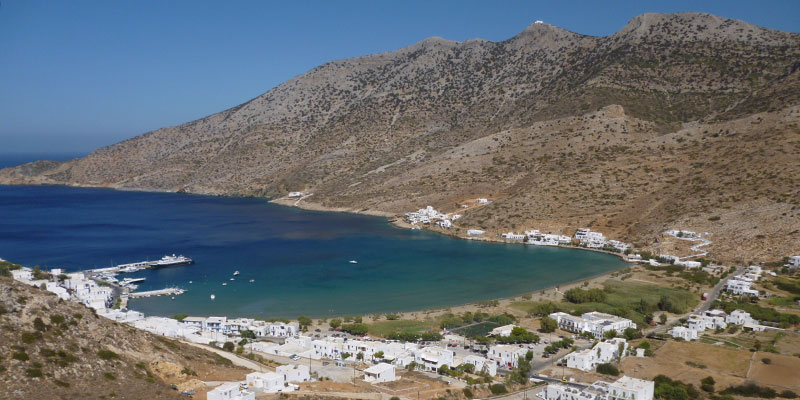 The gulf of Kamares at Sifnos